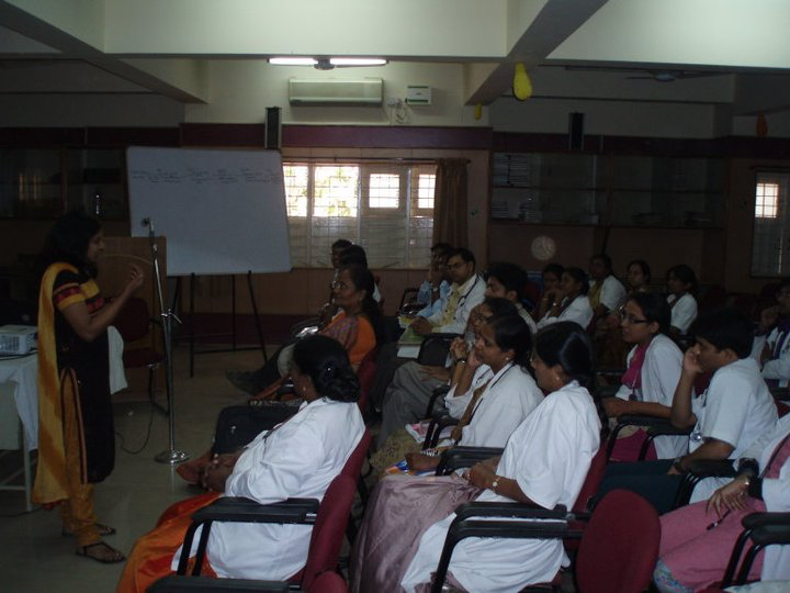 Lecture at Vani Villas Hospital